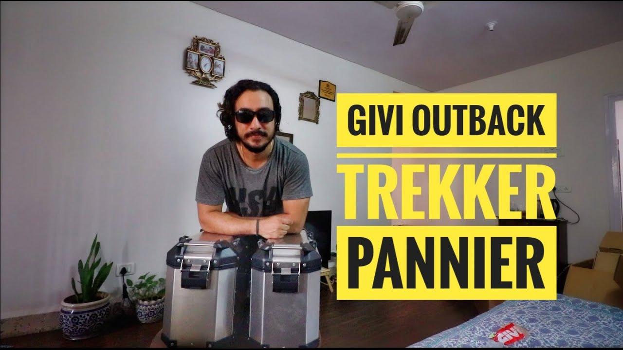 GIVI Trekker Outback luggage System #GIVI