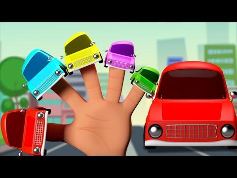 Cars Finger Family | 3D Nursery Rhymes | Kids And Children's Songs