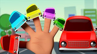 cars finger family   3d nursery rhymes   kids and children s songs