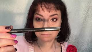 Макияж глаз с карандашом для губ