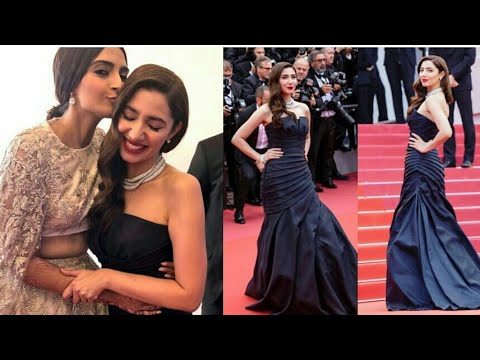 Mahirah khan and Sonam kapoor together at same event of cannes Film festival 2018