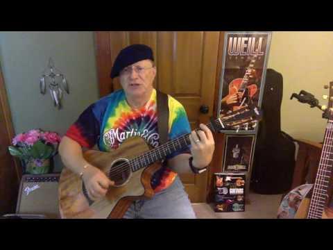 2131 -  Anthem -  Leonard Cohen vocal & acoustic guitar cover & chords