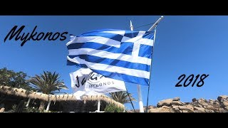 GoPro HERO6 Mykonos 2018 Travel Video