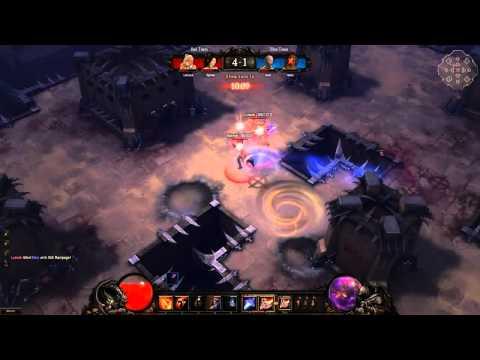 [Blizzcon 2010] Diablo 3 Arenas PvP Gameplay