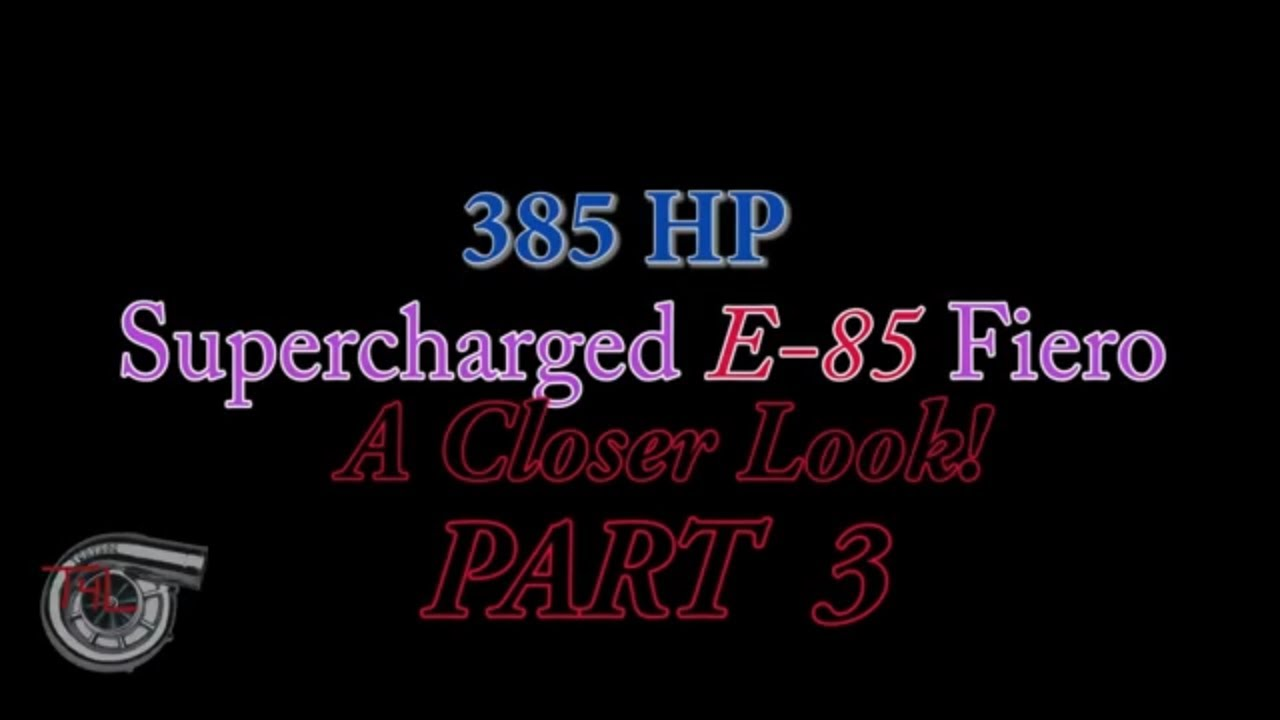 3800 Supercharged Fiero (Tips & Closer Look Part 3) / Engine Swap