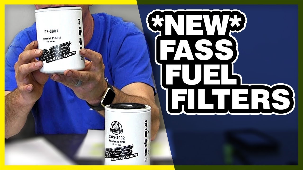 NEW FASS Fuel Filters Explained: Guide To The Difference & What Does It All  Mean