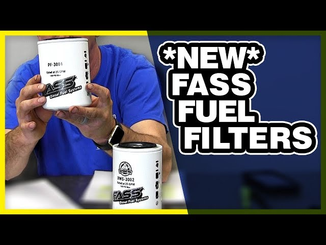 NEW FASS Fuel Filters Explained: Guide To The Difference & What Does