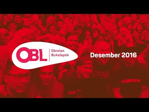Obrolan Bukalapak (OBL) Desember 2016