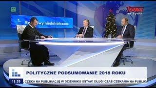 Rozmowy niedokończone: Polityczne podsumowanie 2018 roku cz.I