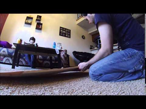 Making a Longboard - Speed Run