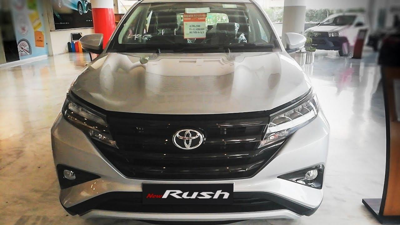 All New Toyota Rush 2019 Pakistan Walkaround Price Specification Youtube