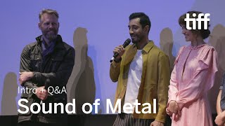 SOUND OF METAL Cast and Crew Q&A, Sept 7   TIFF 2019
