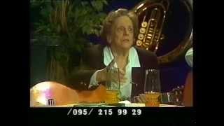 """Телепрограмма """"Гнездо глухаря"""", 1996, ч.1, Кира Смирнова, Михаил Кочетков, Андрей Анпилов"""