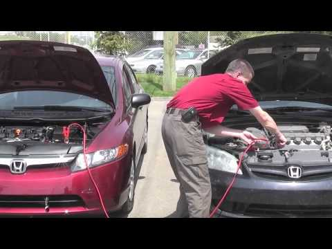 jump start  vehicle honda west calgary youtube