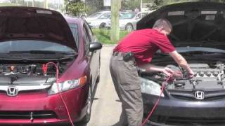 How to Jump Start a Vehicle - Honda West Calgary