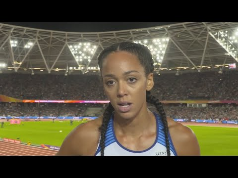 WCH 2017 London - Katarina Johnson-Thompson GBR Heptathlon Day 1