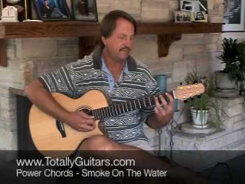 Acoustic Guitar Lesson Preview Smoke On The Water By Deep Purple
