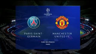 UEFA Champions League | Paris Saint-Germain v Manchester United | Highlights