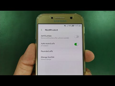Samsung Official Call Recorder In Every Samsung Phone