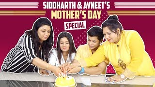 Siddharth Nigam And Avneet Kaur's Mother's Day Special With Their Mom's | India Forums