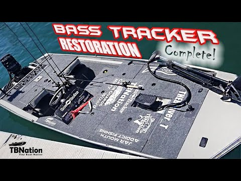 Bass Tracker Boat  Restoration | Jon Boat To Bass Boat | Ft. THEBeaver_T