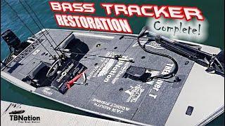 Bass Tracker Boat  Restoration   Jon boat to Bass Boat    Ft. THEBeaver_T