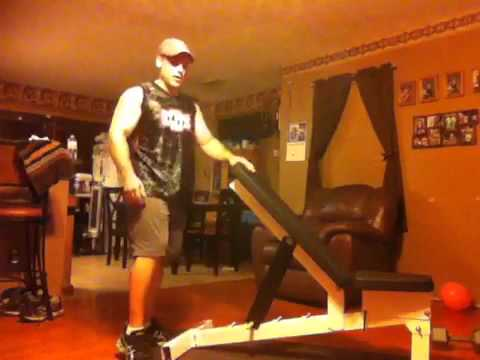 Body Beast Powerblock Workout Bench Youtube