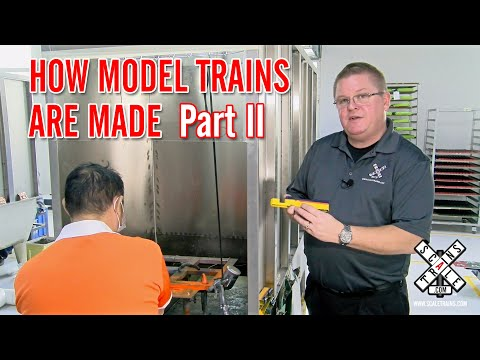 How Model Trains Are Made: The Production Phase