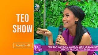 Teo Show (20.06.2019) - Andreea Mantea se pregateste de nunta! EXCLUSIV