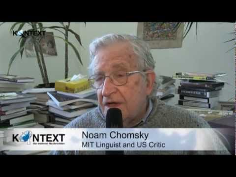 Interview with Noam Chomsky about the Euro Zone, Austerity and Free Trade