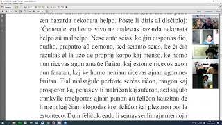 29 | La Sotesana Instruo de Ŭonbulismo | 에스페란토 원불교 대종경 공부 (zoom)