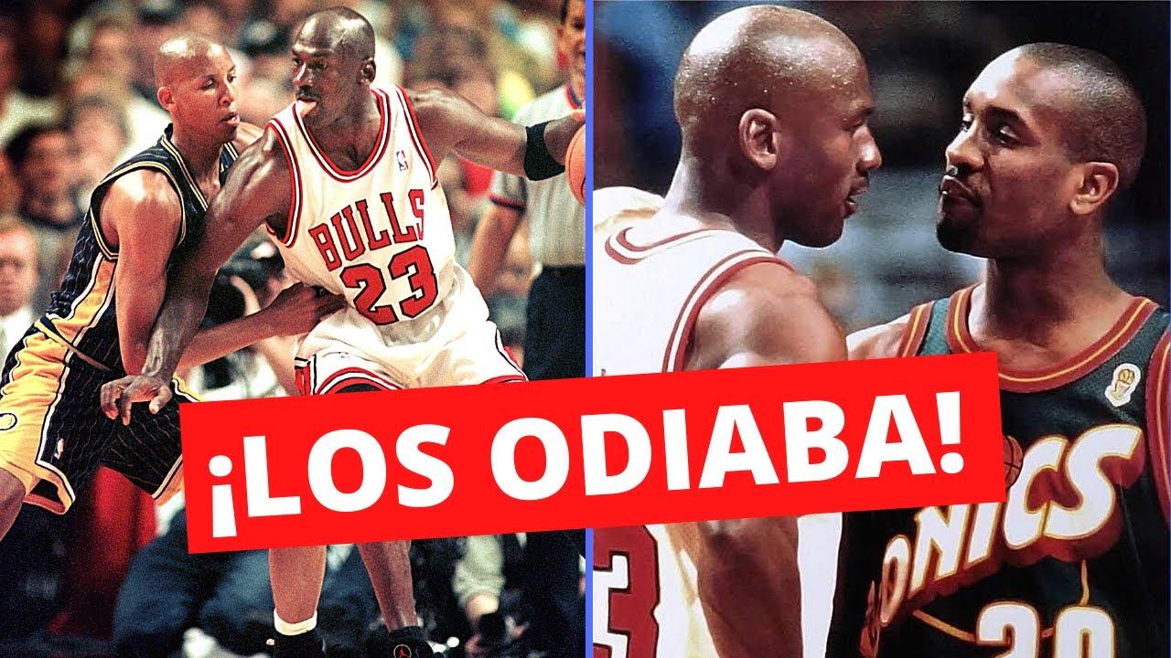 🤬Los 5 Rivales Que Michael Jordan MÁS ODIABA🤬