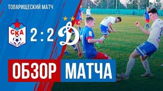Обзор матча СКА — «Динамо»-мол (2:2)