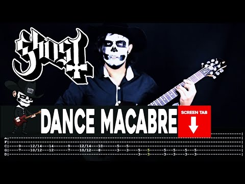 Ghost - Dance Macabre (Guitar Cover by Masuka W/Tab)