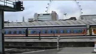 SR Mark 1 EMUs Clapham Jct & Waterloo 10 November 2003