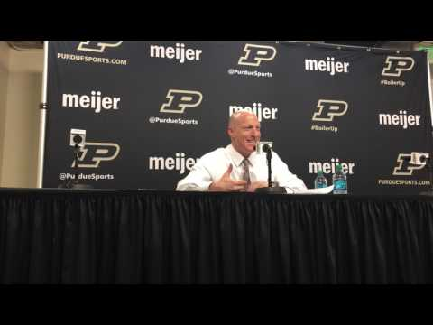 John Groce on loss to Purdue