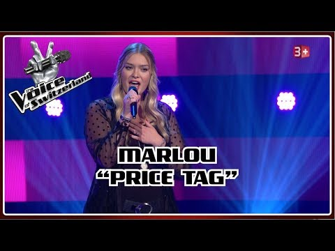 Marlou - Price Tag   Blind Auditions   The Voice of Switzerland