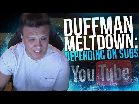 Duffman Meltdown: Depending on Subs & Gamer Gamble (CoD AW)