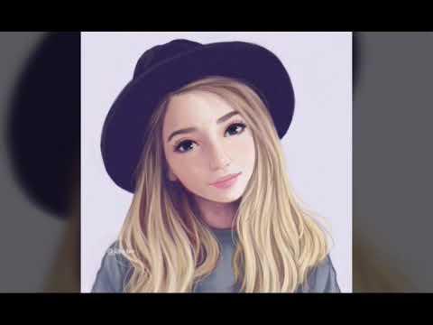 Рисунки фотки девушек