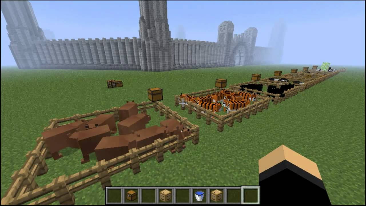 Zoo Mod 1.2.3 V1 Minecraft Review and Tutorial