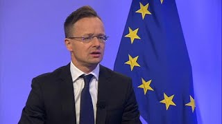 Hungary foreign minister rejects Weber for EU's top job, claps back atHungary foreign minister