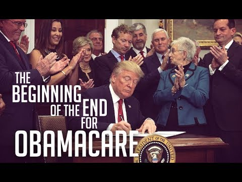 Trump's Executive Order Guts Obamacare, Strips Away Protections