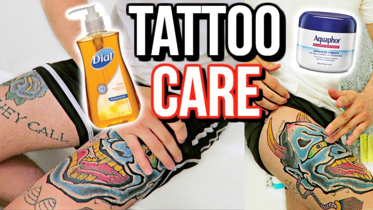 Aquaphor For Tattoos Is It Bad Aquaphor Tattoos Youtube
