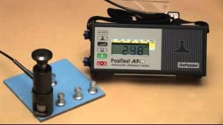 DeFelsko PosiTest AT-A Automatic(PosiTest AT är ett automatiskt, portabelt handinstrument som mäter vidhäftningen, perfekt för laboratorie och fältarbete. Den har en stor, lättavläst display och är ..., 2013-01-23T15:52:12.000Z)
