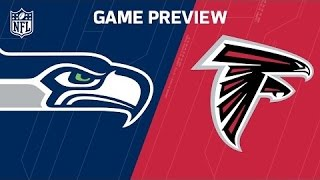 2017 NFL Atlanta Falcons vs Seattle Seahawks Divisional Playoff Predictions & Preview