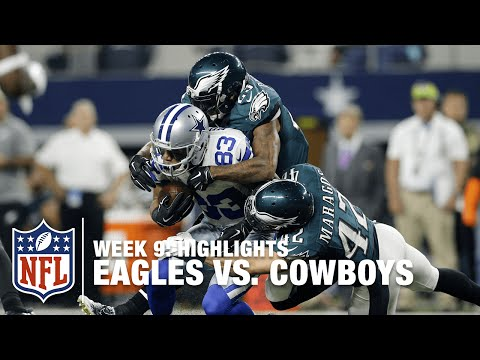 Eagles vs. Cowboys | Week 9 Highlights | NFL