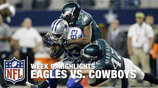 Eagles vs. Cowboys | Week 9 Highlights | NFL