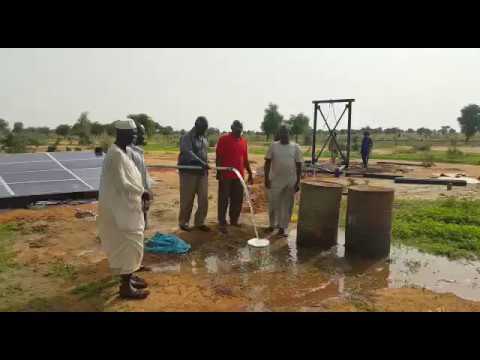 Solar inverter is working well in Sudan