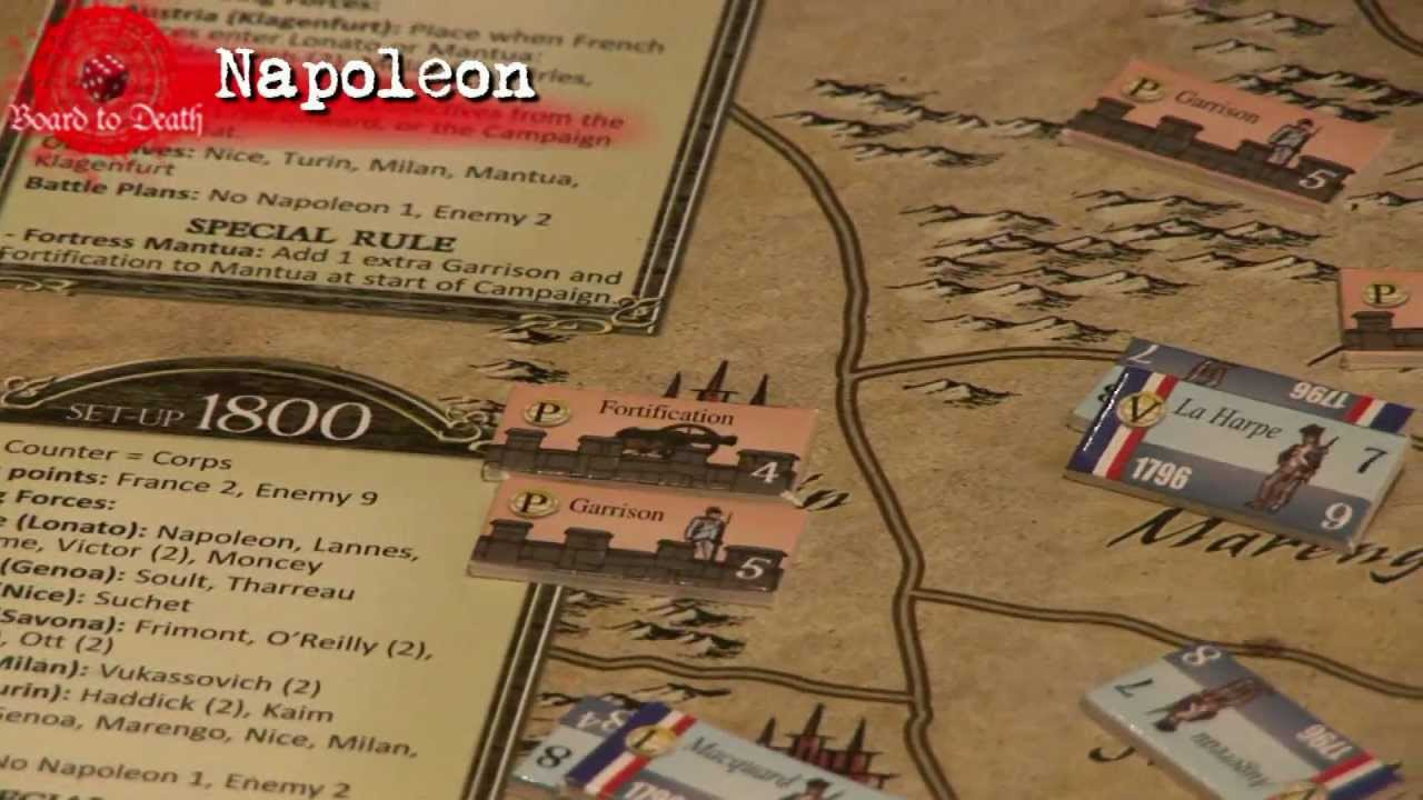 Napoleon Single Player Board Game Review