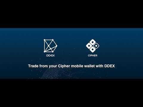 DDEX on Cipher